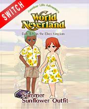 WorldNeverland Elnea Kingdom Sunflower Cloths Pack Set