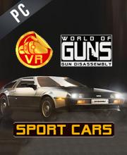 World of Guns VR Sport Cars Pack