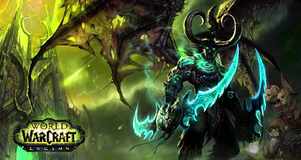 World Of Warcraft Legion Cover