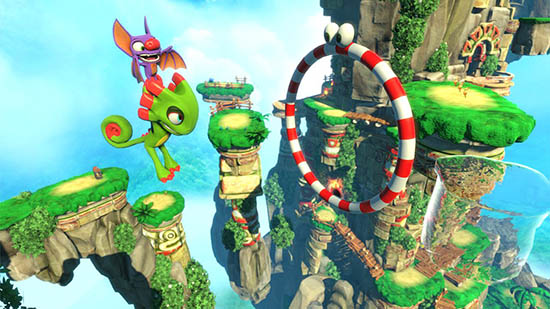 Yooka-Laylee File Size Cover