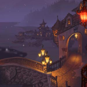 A Vampyre Story Village