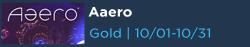 Aaero Free with Gold