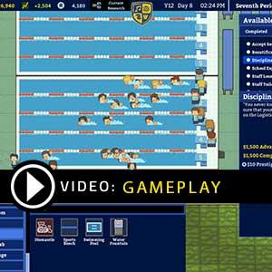 Academia School Simulator Gameplay Video