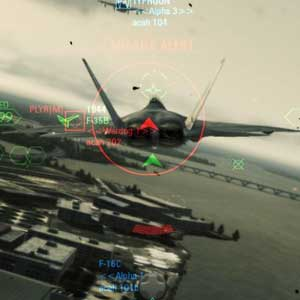 Ace Combat Assault Horizon Gameplay