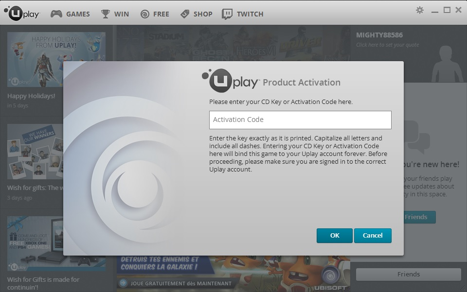 activation code for uplay far cry 4