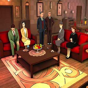 Agatha Christie The ABC Murders PS4 Characters