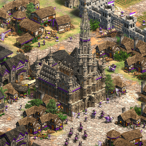 Age of Empires 2 Definitive Edition Lords of the West Town Center
