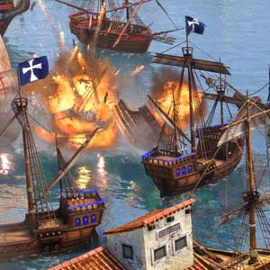 Age of Empires 3 Definitive Edition Naval Battle