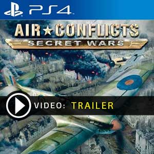 Air Conflicts Secret Wars PS4 Prices Digital or Box Edition