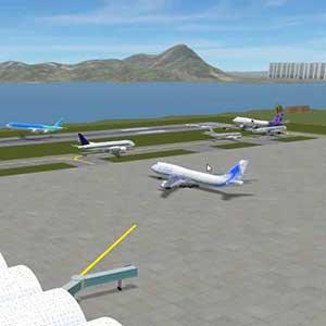 Air plane load gas