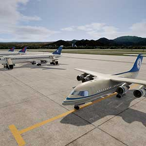 realistic airport