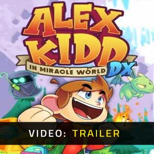 Alex Kidd in Miracle World DX Video Trailer