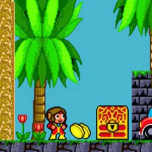 Alex Kidd in the Enchanted Castle Treasure
