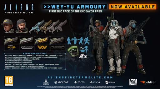 purchase aliens: fireteam elite ey-yu armoury pack dlc low price