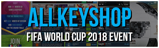 AllKeyShop FIFA World Cup 2018 Event
