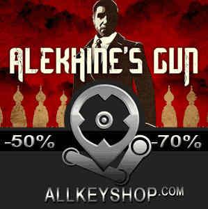 Buy Alekhines Gun CD KEY Compare Prices