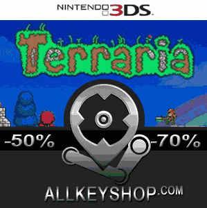 Buy Terraria Nintendo 3DS Download Code Compare Prices