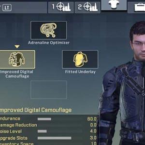 Alpha Protocol Armor Upgrade