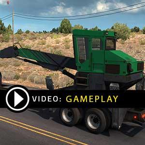 American Truck Simulator Forest Machinery Gameplay Video