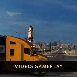 American Truck Simulator Gameplay Video