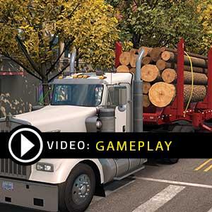 American Truck Simulator Washington Gameplay Video