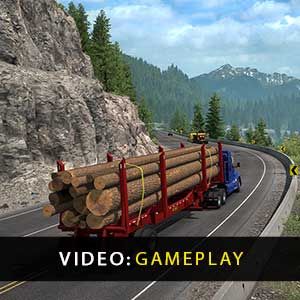 American Truck Simulator West Coast Bundle Gameplay Video