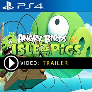 Angry Birds VR Isle of Pigs PS4 Prices Digital or Box Edition