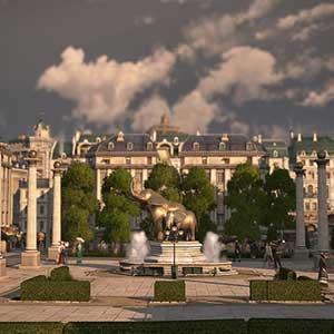 prestigious palace