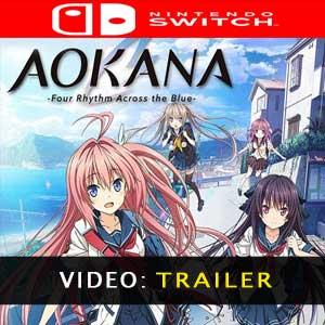 Aokana Four Rhythms Across the Blue Trailer Video