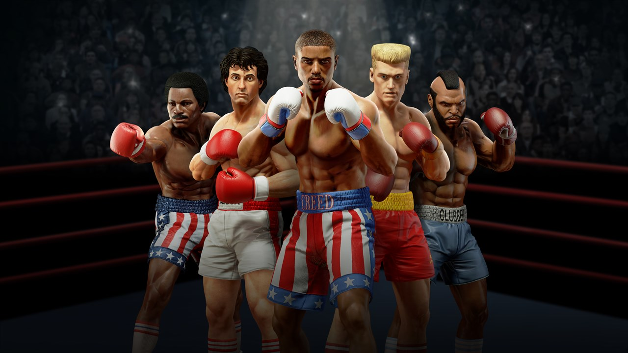 Big Rumble Boxing Creed Franchise Boxers
