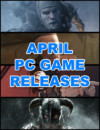 PC Game Releases for April 2018