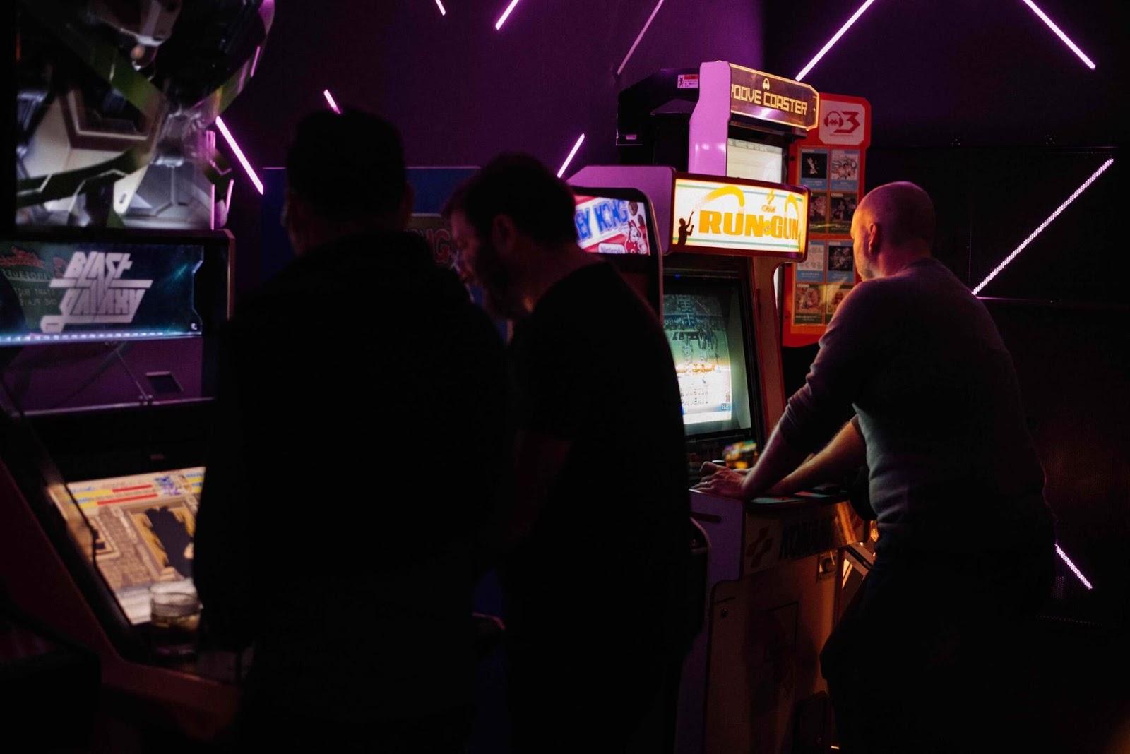 Coin-op arcade machine