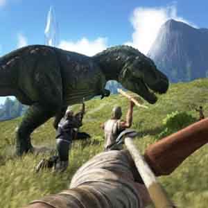 ARK Survival Evolved Xbox One - Hunting the T-Rex