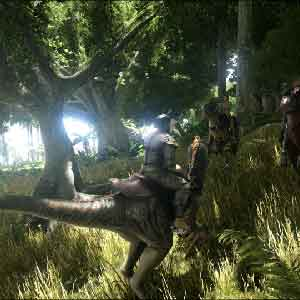 ARK Survival Evolved Dinosaur Ride