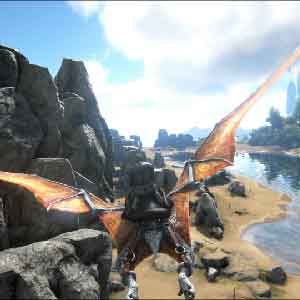 ARK Survival Evolved Flying Dinosaur