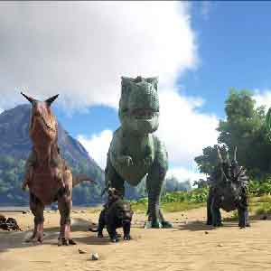 ARK Survival Evolved -Dinosaur Line Up