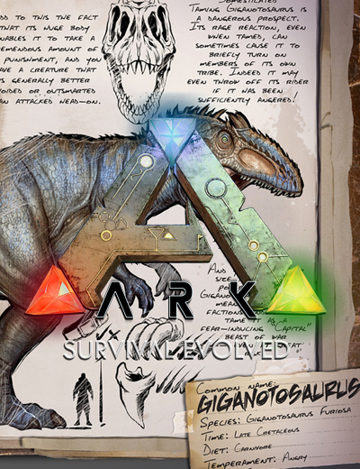 Meet the Giganotosaurus in Ark Survival Evolved