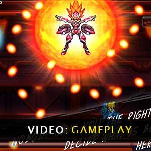 Armed Blue Gunvolt Striker Pack Gameplay Video
