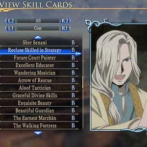 Arslan The Warriors of Legend PS4 Character Status