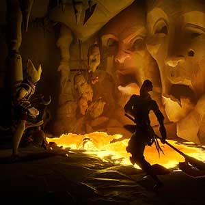 Ashen Nightstorm Isle -horrors lurk