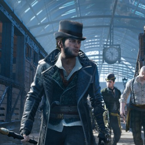Assassin's Creed Syndicate PS4 AT THE VICTORIAN TRAIN STATION