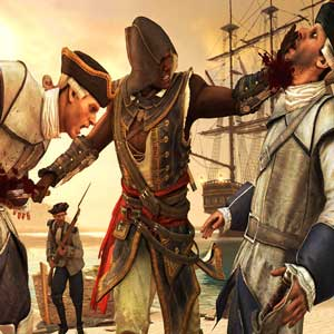 Assassins Creed 4 Black Flag Freedom Cry - Adéwalé in combat