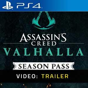 Assassins Creed Valhalla Season Pass PS4 Trailer Video
