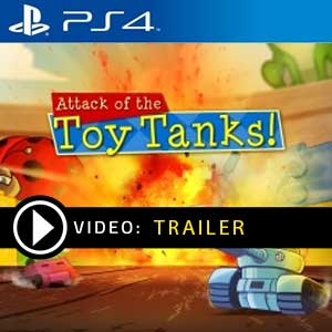 Attack of the Toy Tanks PS4 Prices Digital or Box Edition