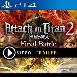 Attack on Titan 2 Final Battle PS4 Prices Digital or Box Edition