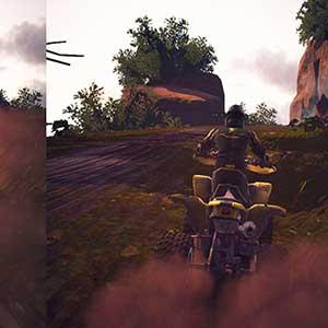 split screen Quick Race