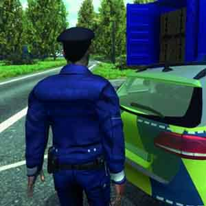 Autobahn-Police Simulator 2015- With the Police Car