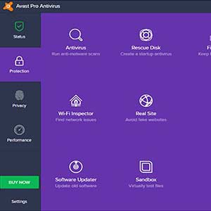 AVAST Pro Antivirus 2020 - Protection