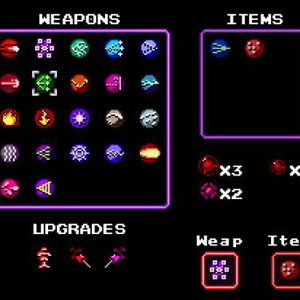 Axiom Verge: Inventory