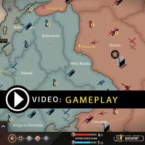 Axis & Allies 1942 Online Gameplay Video